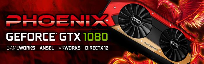 GAINWARD GeForce GTX 1080 PHOENIX Series