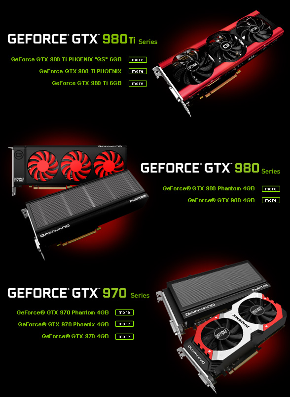 Get VR Ready with Gainward GeForce® GTX