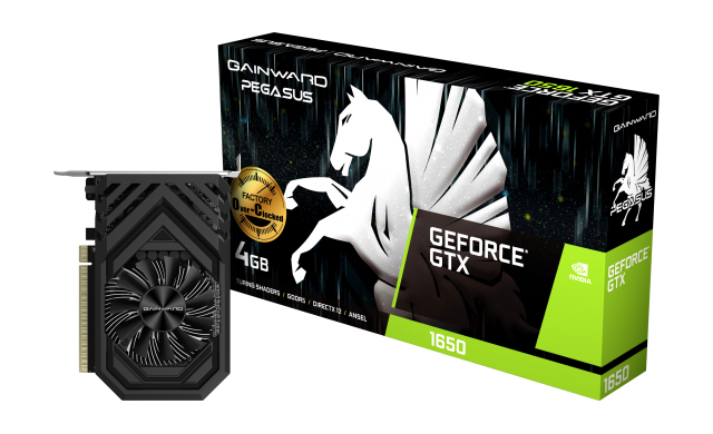 Products :: Gainward GeForce<sup>®</sup> GTX 1650 Pegasus OC